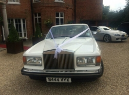 Rolls Royce wedding car in Camberley